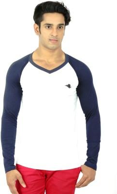 Sketch Solid Men's V-neck T-Shirt