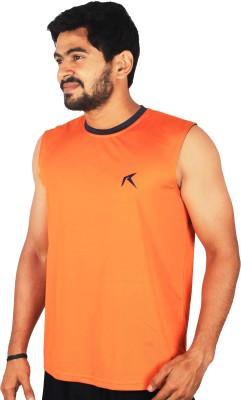 Repugn Solid Men,s Round Neck Reversible Dark Blue T-Shirt