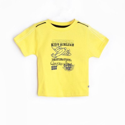 Mee Mee Graphic Print Baby Boy's Round Neck T-Shirt