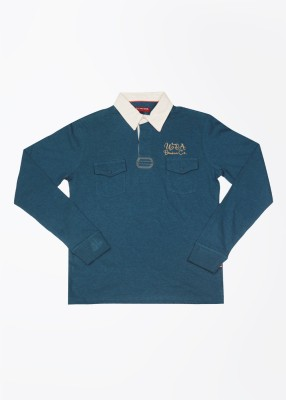 US Polo Solid Boy's Polo T-Shirt