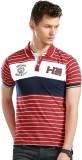 Harvard Striped Men's Polo Neck Multicol...