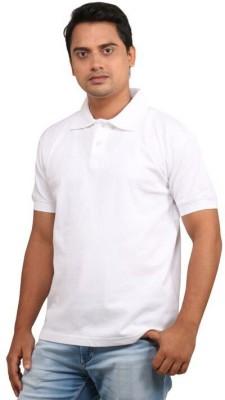 EagleBuzz Solid Men's Polo T-Shirt