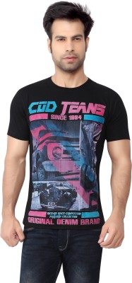 Cod Jeans Solid Men's Round Neck T-Shirt