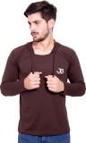 Jangoboy Full Sleeve Solid Men's Sweatsh...