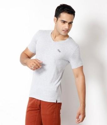 Riverstone Solid Men,s V-neck T-Shirt