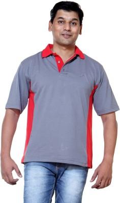 Ashdan Solid Men's Polo Neck Multicolor T-Shirt