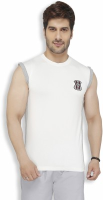 Live In Solid Men's Round Neck T-Shirt