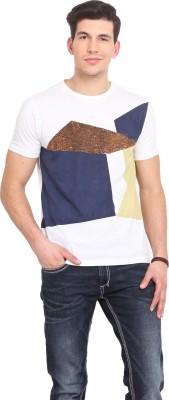 Smokestack Printed Men's Round Neck T-Shirt