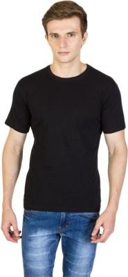 Antistreet Solid Men's Round Neck Black T-Shirt