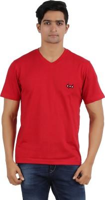 6P6 Solid Men's V-neck T-Shirt