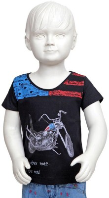 Tales & Stories Graphic Print Boy's Round Neck T-Shirt