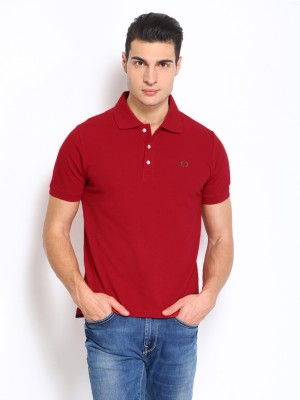 Nord51 Solid Men's Polo Red T-Shirt