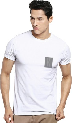 Kavit Hub Graphic Print Men,s Round Neck White T-Shirt