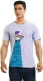 Dexter Graphic Print Men's Round Neck Pu...