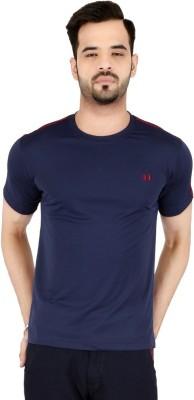 Awack Solid Men's Round Neck T-Shirt