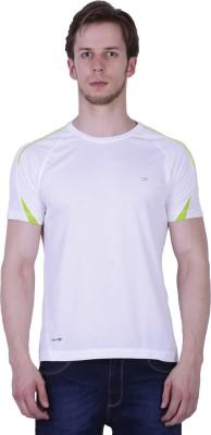 Duke Stardust Solid Men's Round Neck White T-Shirt