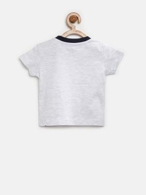YK Printed Baby Boy's Round Neck T-Shirt