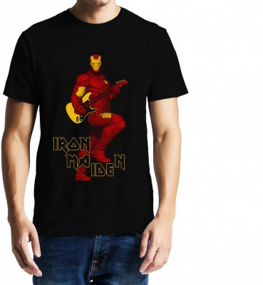 Baklol Graphic Print Men's Round Neck T-Shirt