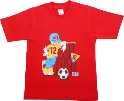 Hillman Printed Boy's Round Neck T-Shirt