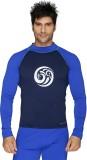 Aquamagica Printed Men's Round Neck Blue...