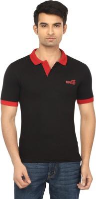 Himgiri Solid Men's Polo Neck T-Shirt