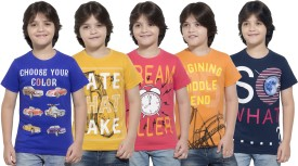 Maniac Boys Printed(Multicolor, Pack of 5)