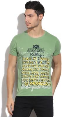 Lee Men's Green T-Shirt