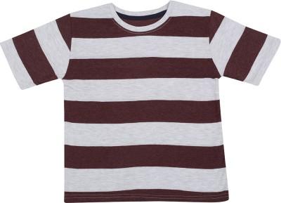 Next Steps Striped Boy's Round Neck T-Shirt
