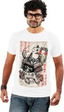 Shopping Monster Graphic Print Men's Rou...
