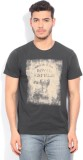 Royal Enfield Printed Men's Round Neck G...