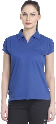 Lango Solid Women's Polo Neck T-Shirt