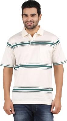 Classic Polo Striped Men's Polo Neck T-Shirt