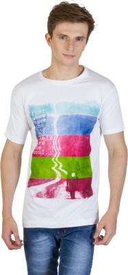 Kapapai Printed Men's Round Neck T-Shirt