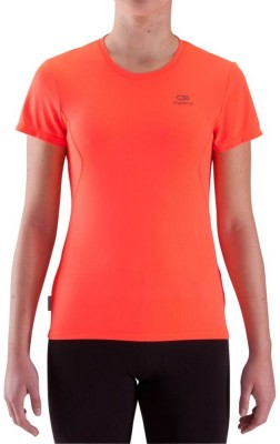 Kalenji Ekiden Solid Women's Round Neck T-Shirt