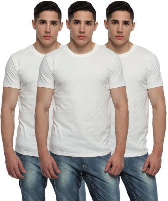 EagleBuzz Solid Men,s, Boy's Round Neck T-Shirt