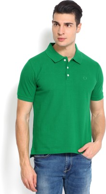 Nord51 Solid Men's Polo Green T-Shirt