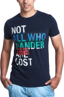 Jaihind Printed Men's Round Neck T-Shirt