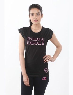 Invincible Solid Women's Round Neck T-Shirt
