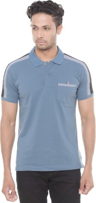 Wexford Solid Men's Polo Neck Multicolor T-Shirt