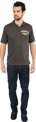 Urbanlyf Graphic Print Men's Polo Neck T-Shirt
