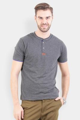 Crocodile Solid Men's Polo Multicolor T-Shirt