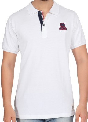Stoke Solid Men's Polo Neck T-Shirt