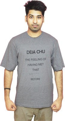 Gystia1 Printed Men's Round Neck T-Shirt