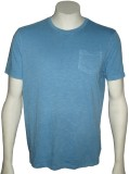Cool Club Solid Men's Round Neck Blue T-...