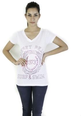 Goodtry Printed Women's Round Neck T-Shirt