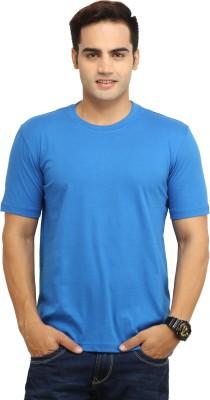 WallWest Solid Men's Round Neck T-Shirt