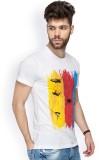 Chulbul Graphic Print Men's Round Neck W...