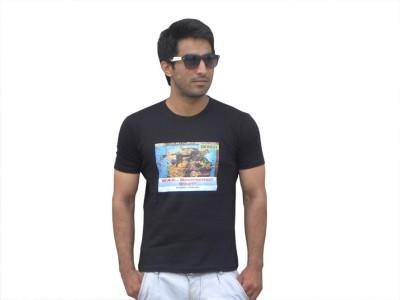 Rebirth Merchandise Printed Men's Round Neck T-Shirt