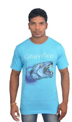 Graffitee Graphic Print Men's Round Neck T-Shirt