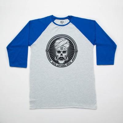 Haul Graphic Print Men,s, Women's Round Neck Grey, Blue T-Shirt
